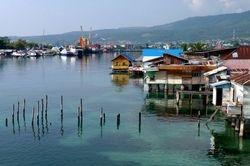 Sandakan harbour