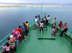leaving Sandakan for Luwuk, Sulawesi
