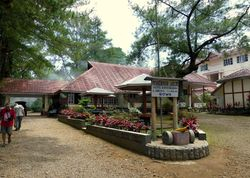 our hotel at Malino, Sulawesi
