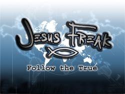 JESUS FREAK FISH