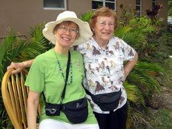 Karen and Gladys