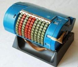 German P.D.R machine (Passenger Data Recorder)