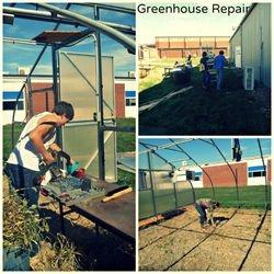 Greenhouse Repair