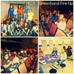 Greenhand Fire Up