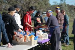 Wedderburn Lions did a great job with lunch