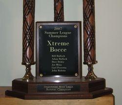 2007 Championship Trophy