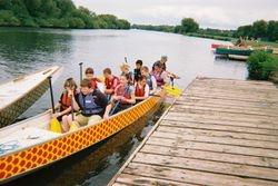 Dragon Boat setting off