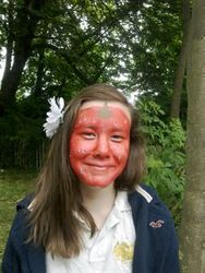 Face Painting 3 - Strawberry