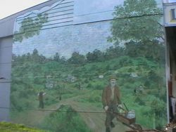 Mural on Linton General Store