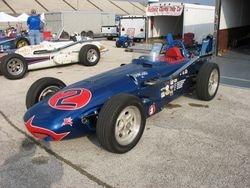 Chuck Faulkner's #2 Dowgard Watson roadster replica