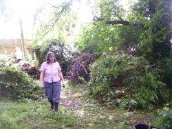 Garden work party 2009