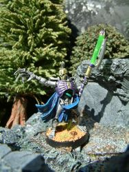 Necron Lord with War Scythe