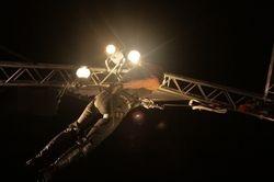 Krizten Aerial Stunt