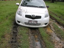 My car after about 5 days