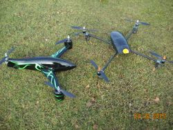 Eric's Tri and Quad Copter