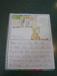 1st grade journal entry