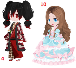 "Glen ""Rose"" Highdragon and Princess Elise"