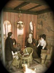 Aunt Elvira insists Sofia returns to Philadelphia with her immediatley.