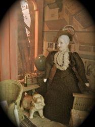 Aunt Elvira- Sofia's guardian.