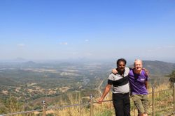Hassan & Rob at Mahiyanganaya