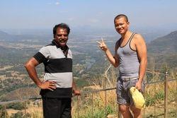Hassan & Simon at Mahiyanganaya