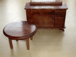 1/12 German Sideboard & coffee table