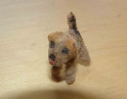 Tiny pipecleaner dog