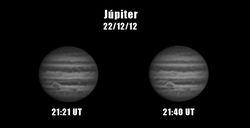 Jupiter 22/12/2012