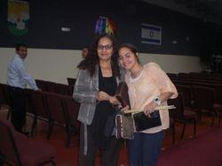Mi mama y nuestra bella Dayana