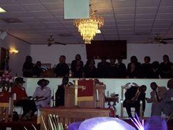 Choir from Canaan Missionary Baptist Church