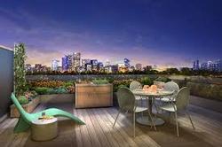 Modern's terrace