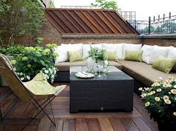 Party terrace three.