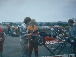 Simon Patterson (Mech) and Me