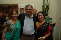 Hussein en Lila en Bishnu