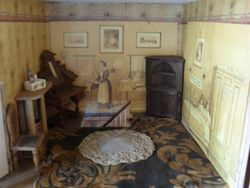 2nd upstairs room