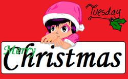 Merry Christmas Tuesday