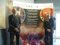 Andy Grove, Chair & Carl Hagemann, Vice Chair