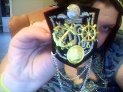 my captains pin