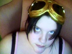 painted the goggles gold