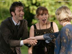The Doctor and Donna meet Agatha Christie