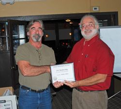 Randy Received Lifetime Membership Award