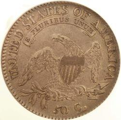 1817/3 Bust Half Dollar, Obverse