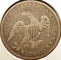 1836 Bust Quarter Reverse