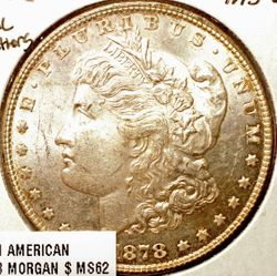 1878 Morgan Dollar Obverse