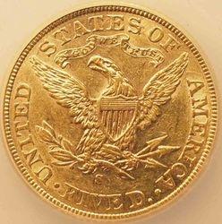 1905-S/S Half Eagle, reverse