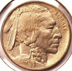 1913 Type 1 Buffalo Nickel BU