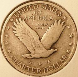 1924 Standing Liberty Quarter Reverse
