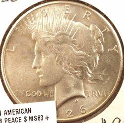 1926 Peace Dollar BU (Obverse)