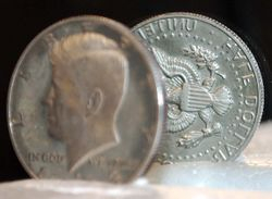 Proof 1983-S Proof Kennedy Half with Rotated Die Error