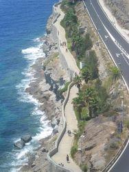 Put koji povezuje 2 plaze